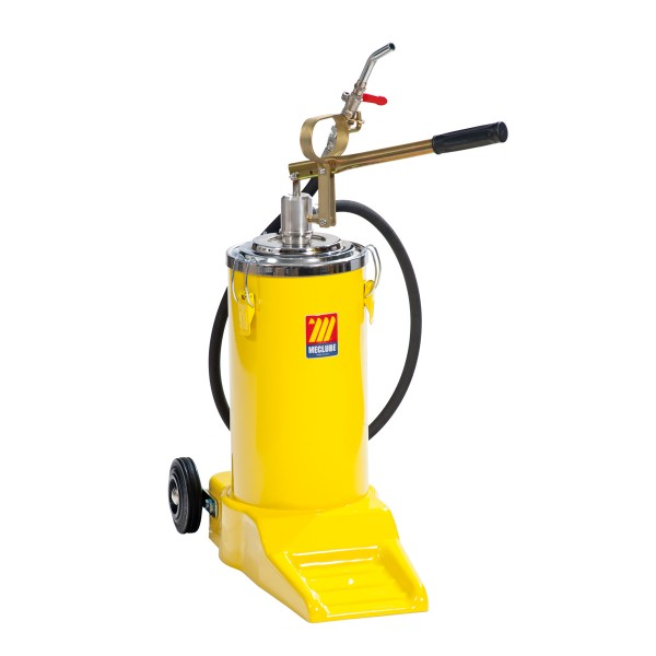 16 L Wheeled Manual Oil Dispenser Meclube S R L Oil And