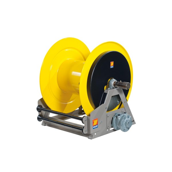 Industrial Hose Reels Motorized Pneumatic For Grease 400